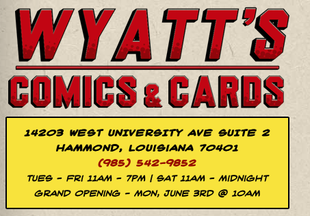 Wyatts Cards & Comics Ticket Outlet