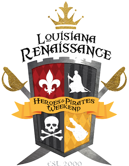 Heroes & Pirates Weekend Theme Logo